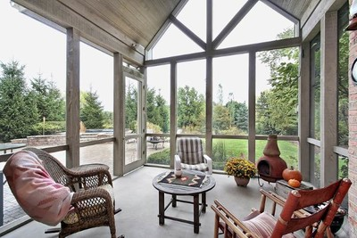 Patio Enclosure / Screen Room in Whitewater Wisconsin