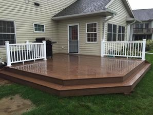 Brand New Deck Built in Whitewater, WI (4)