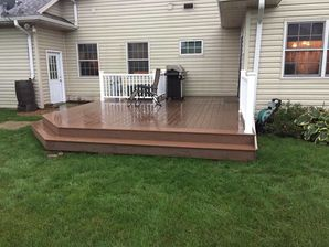Brand New Deck Built in Whitewater, WI (3)