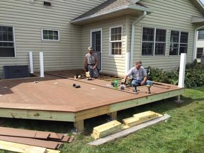 Brand New Deck Built in Whitewater, WI (2)