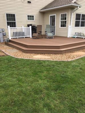 Beautiful New Deck in Whitewater, WI (1)
