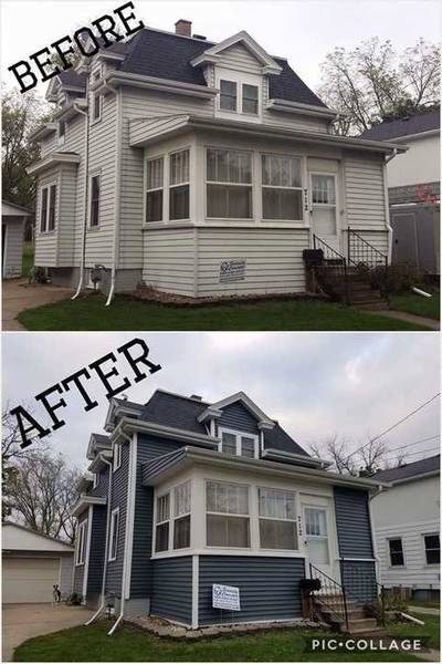 New siding job in Watertown, WI. (1)