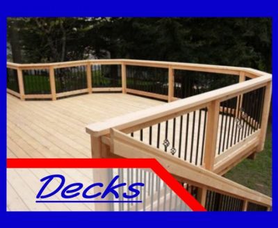 Deck building by Serenity Concepts LLC