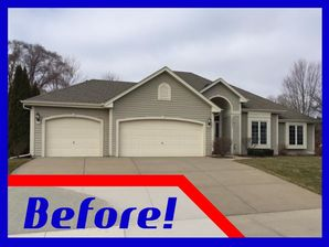Before & After New Siding in Whitewater, WI (1)
